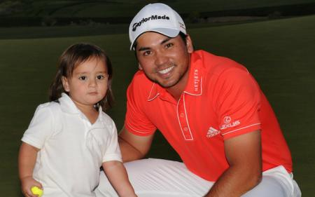 Jason Day's son takes a leaf out of Happy Gilmore