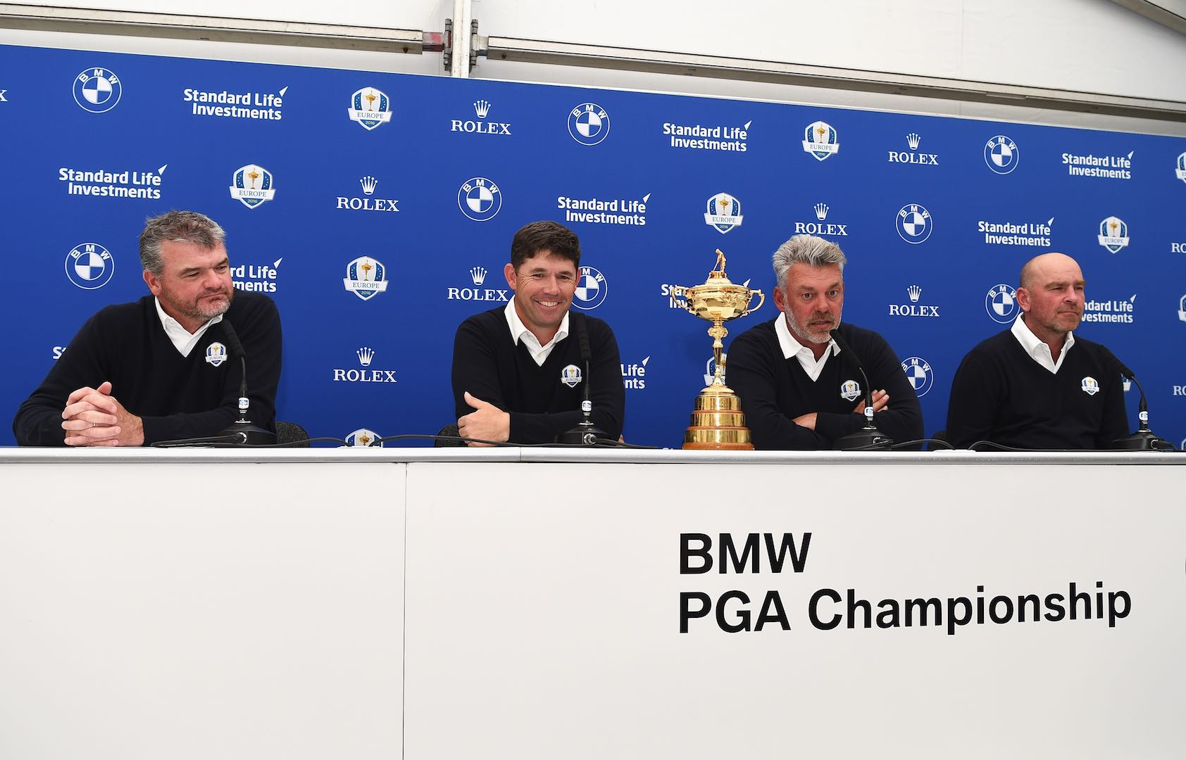 Harrington, Bjorn, and Lawrie named Ryder Cup Vice Captains