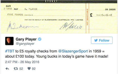 Gary Player reminds Young Bucks