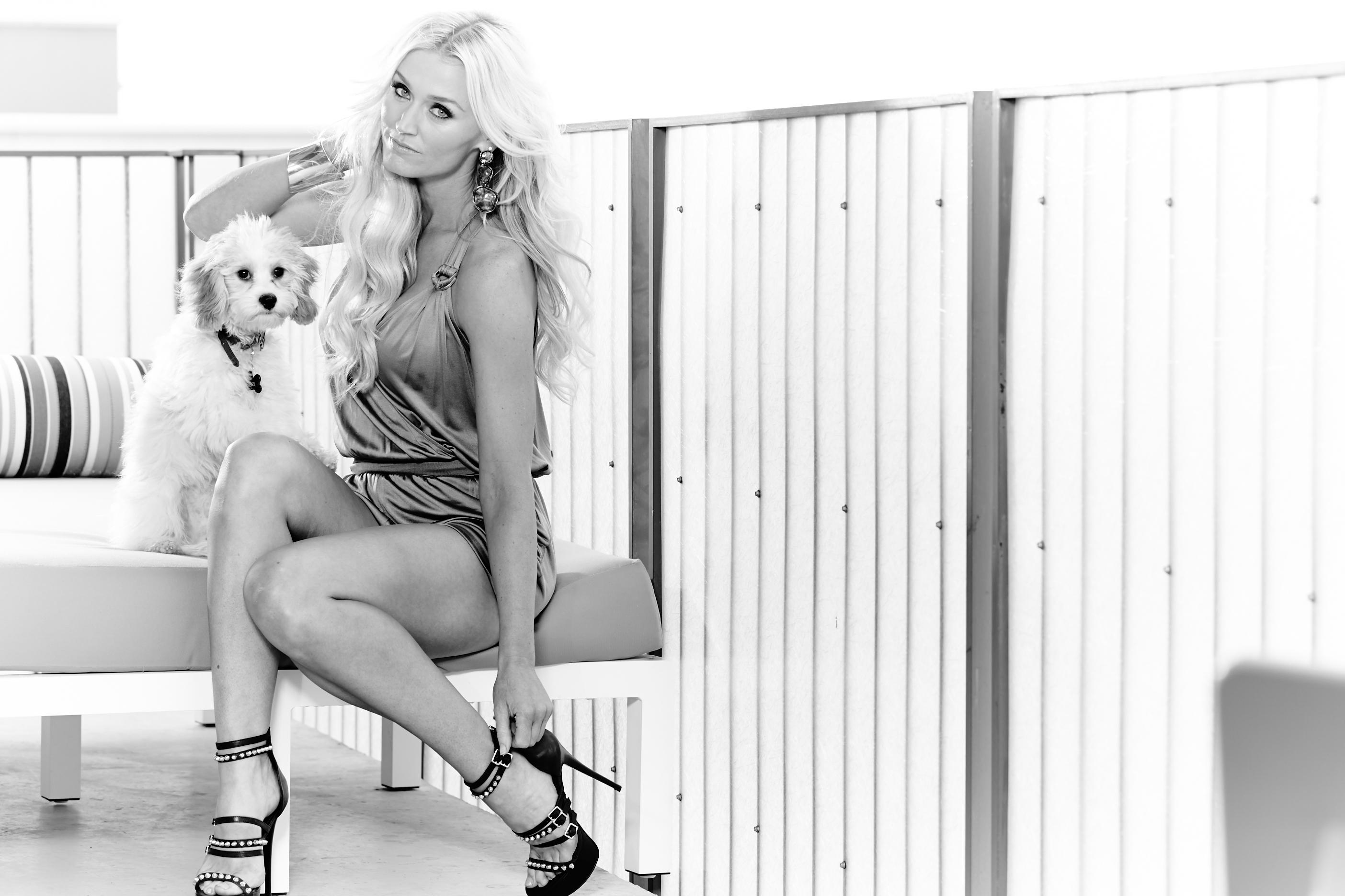 Blair O'Neal exclusive photo shoot