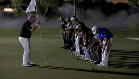 Night Golf like you've never seen it before