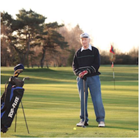 The longest ever golf member