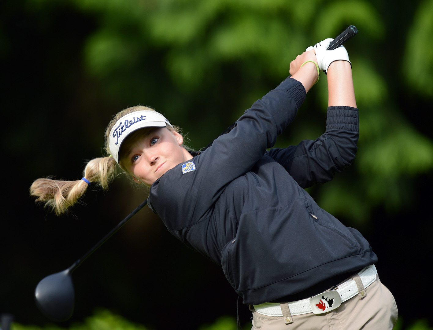 Brooke Henderson: 5 ft 4 inch power house