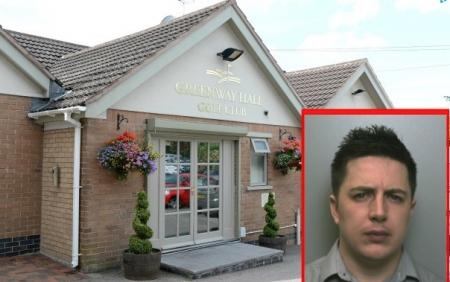 Accountant embezzles £268,000 from Stoke golf club