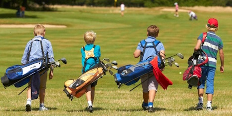 How to keep Juniors in Golf playing