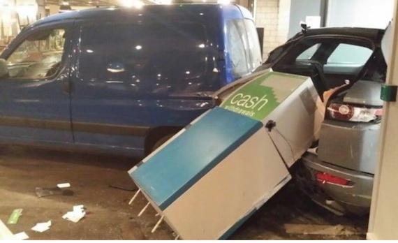 Ram Raid on Golf Shop