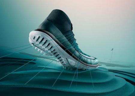 Nike Launch Flyknit Elite Golf Shoes