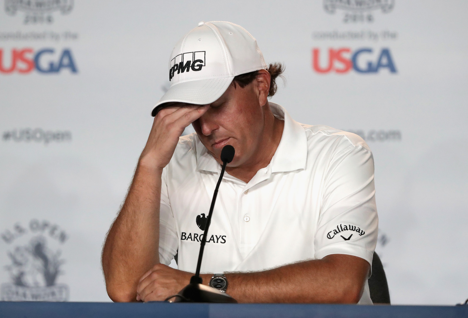 Phil Mickelson wants to go over the edge!