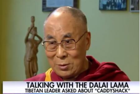 Dalai Lama has never seen Caddyshack