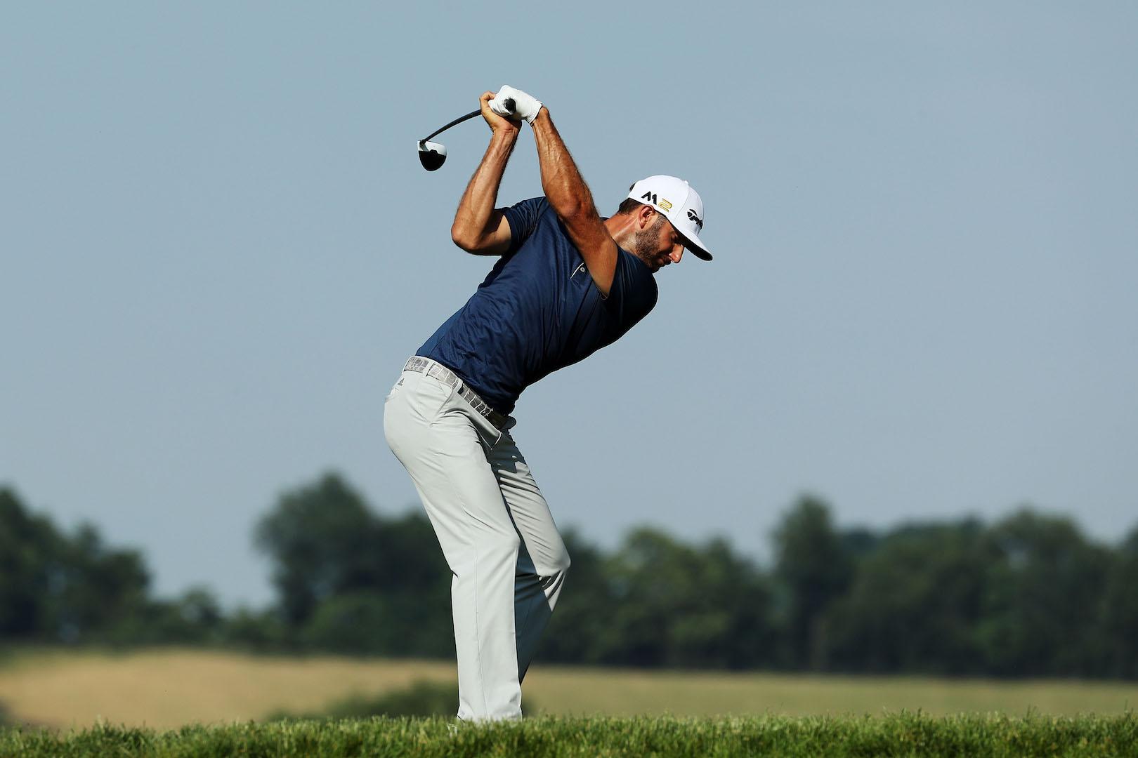 Dustin Johnson Wins the U.S. Open