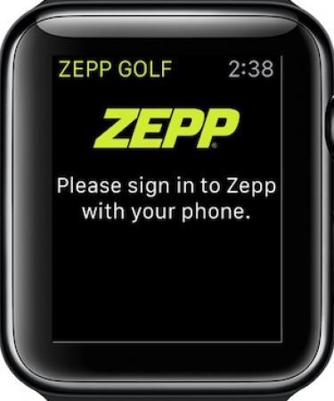 Zepp training app has new functionality