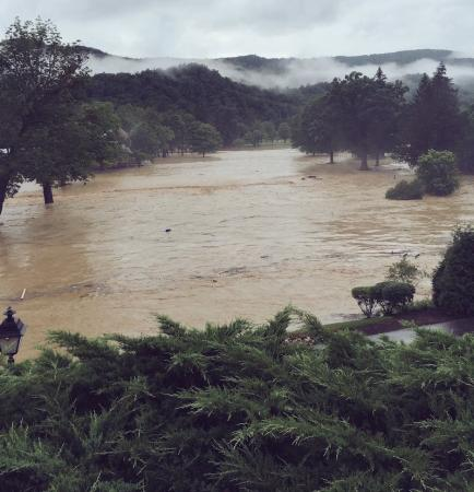 Greenbrier Classic under threat from flooding