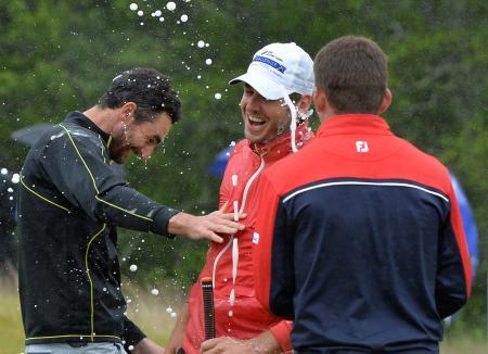 Golf's weekend winners