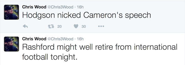 Golfers react to England defeat