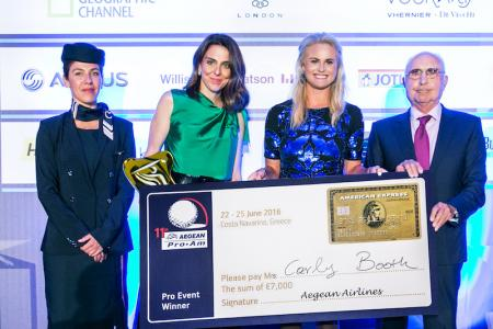 GP's Golf Nurse wins Aegean Airlines Pro-Am