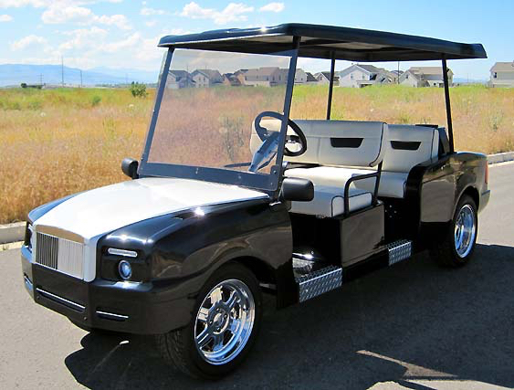 Top 6 Customised Golf Carts