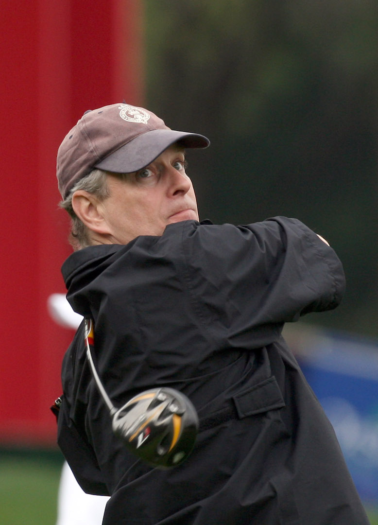 Prince Andrew on golf caper