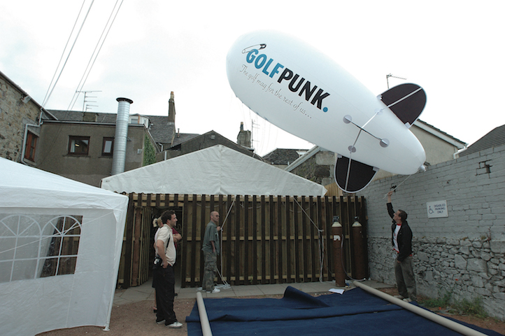 The last time GolfPunk took over Troon