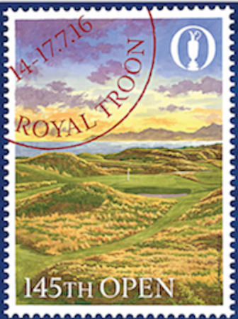 The Official 145th Open poster