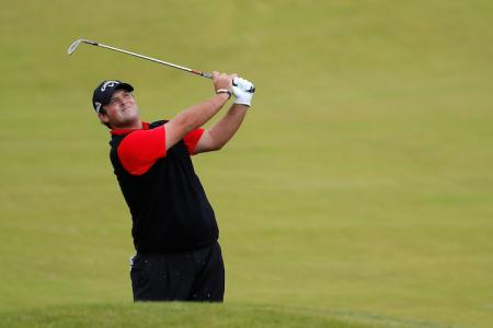 Patrick Reed goes heather surfing