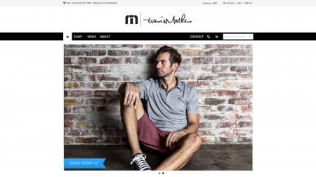 Say hello to www.travismathew.eu
