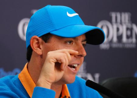 McIlroy banters back at trolls