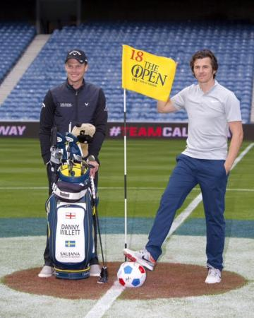 Danny Willett and Joey Barton triumph