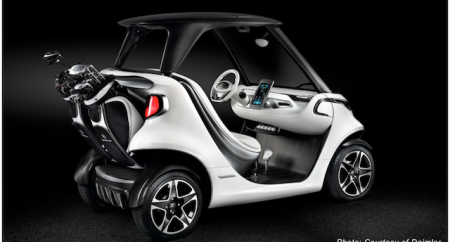 Mercedes-Benz launch Garia Golf Car