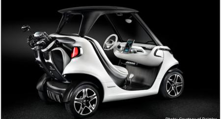 Mercedes-Benz launch Garia Golf Car