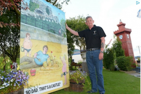 Crazy golf course owner in council dispute