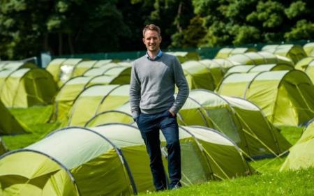 Open 'Glasto' camping hailed great success