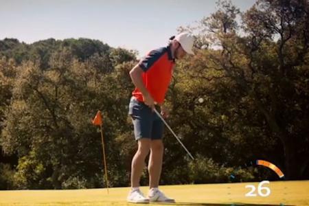 Gareth Bale's Impressive Golf Skills