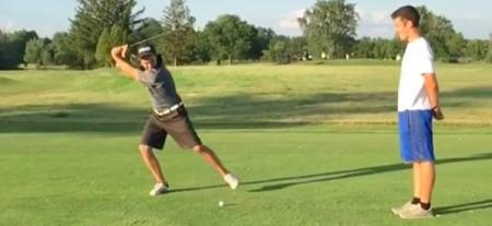 Extreme Happy Gilmore Flop Shot