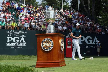 USPGA Friday Tee Times & Pairings