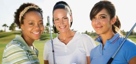 Massive increase in Women's golf