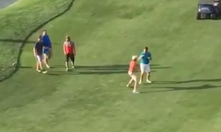 Golf Fight!!!