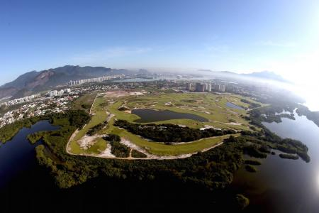Another Olympic white elephant with Rio golf course