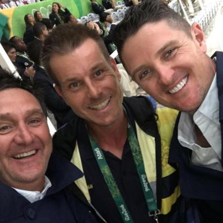 Justin Rose is having a whale of a time at Olympics