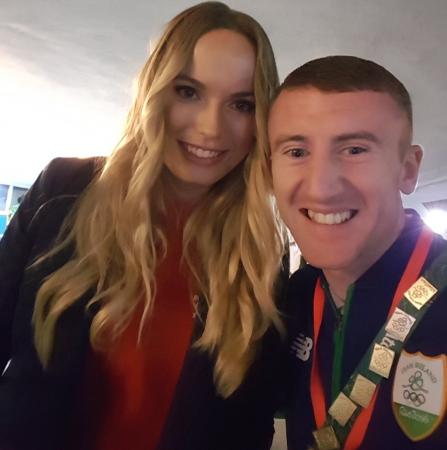 Irish flagbearer takes the mick out of Rory