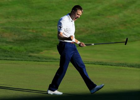 Russell Knox wins Travelers Championship