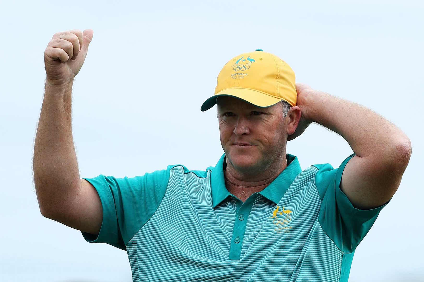 Marcus Fraser leads the Olympic golf