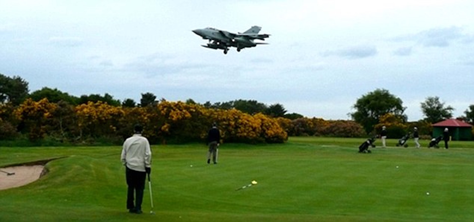 RAF Marham's golf course loses 4 holes
