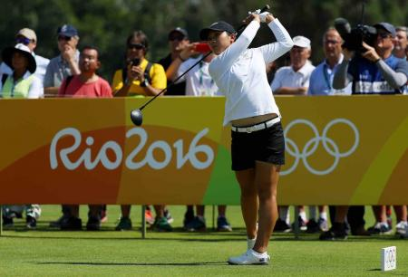 Slow start for Gold medal favourite Lydia Ko