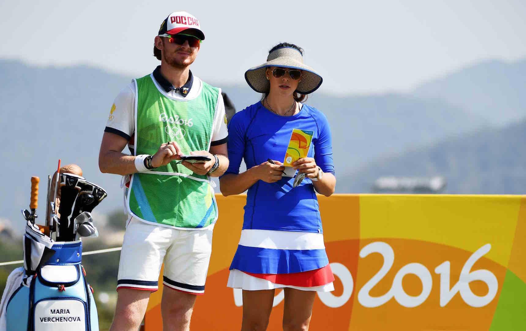 UK student on Maria Verchenova's Olympic bag