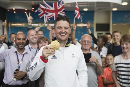 Justin Rose gets an MBE