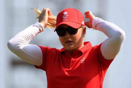 Charley Hull benefits from Justin Rose's experience