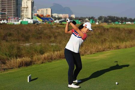 First Olympic women's hole in one