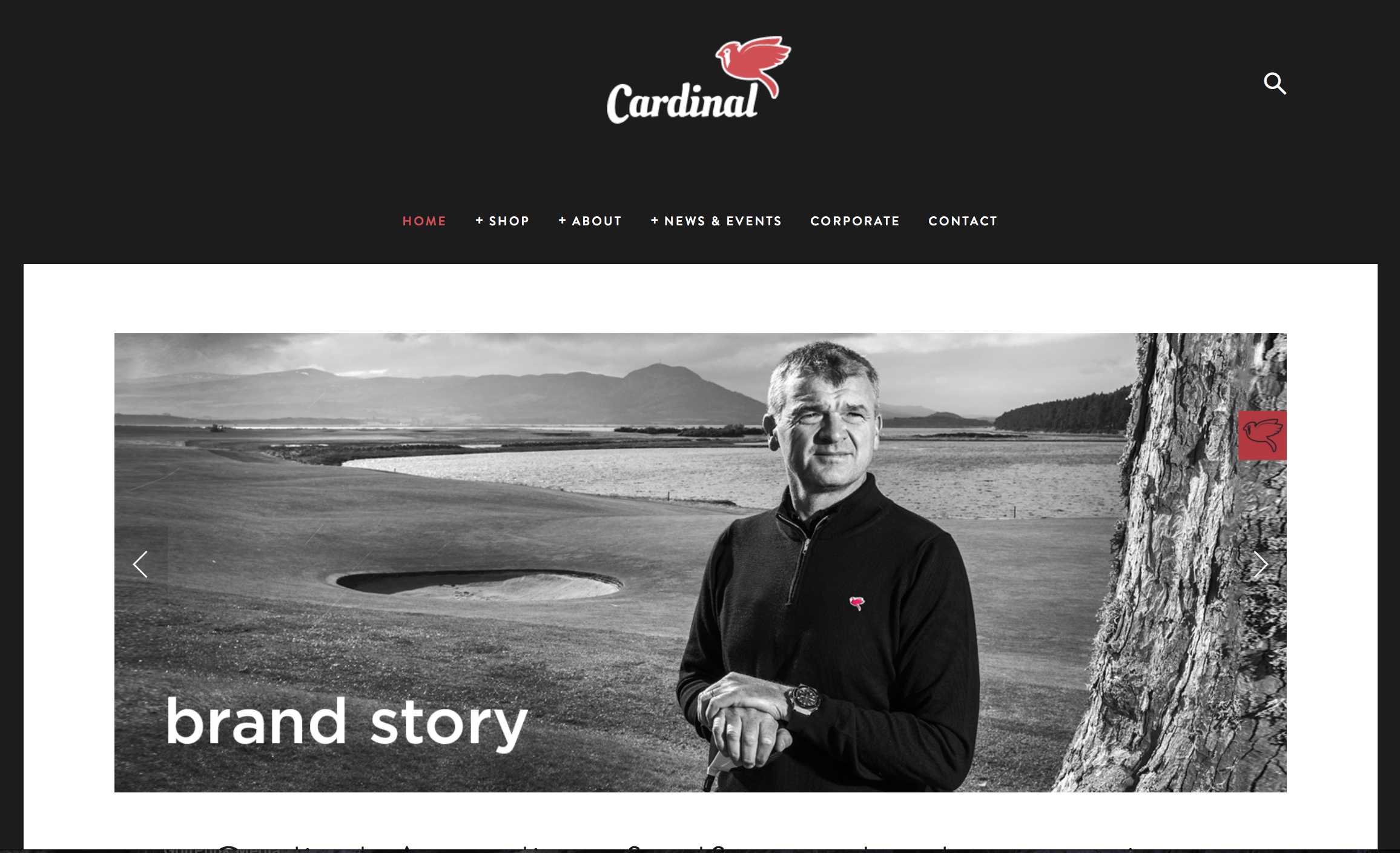 Paul Lawrie's Cardinal range