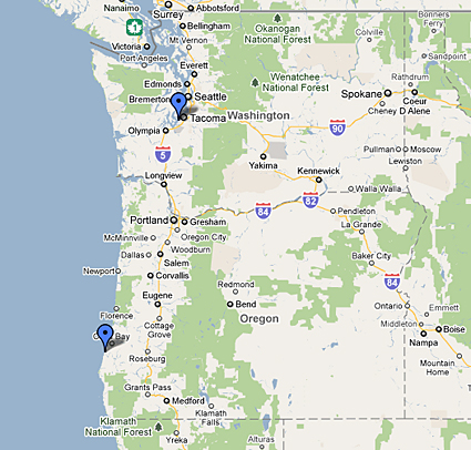 Chambers Bay Map Chambers Bay Washington Map | woestenhoeve