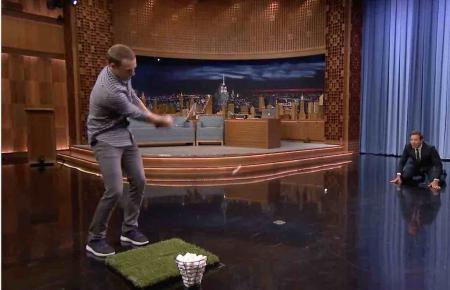 Jordan Spieth on Jimmy Fallon's Tonight Show